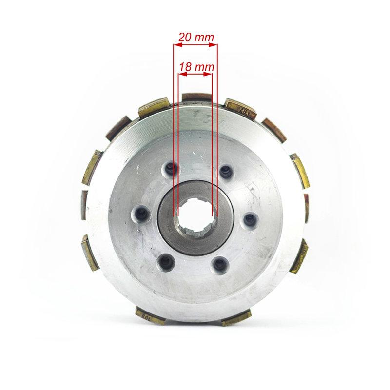 Sajūgs ATV 200 ar 7 ferido diskiem