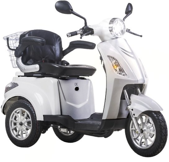 ZNEN E-LIFE elektriskais skuters balts