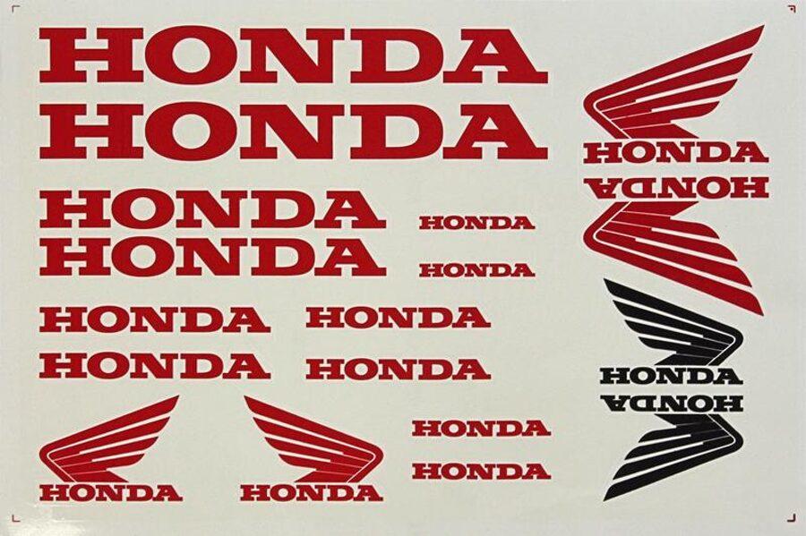 Uzlīmes Honda 250*345mm