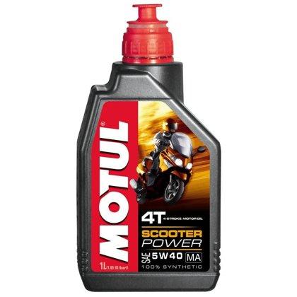 Eļļa Motul SCOOTER POWER 4T 5W-40