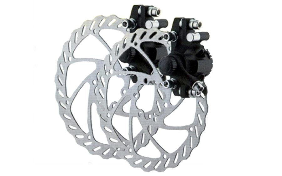 Mehāniskās disku bremzes Alhonga