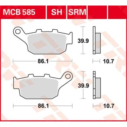 Bremžu kluči MCB585