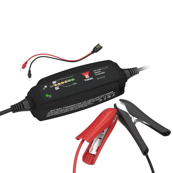 Akumulatora uzlāde Yuasa YCX 0.8A