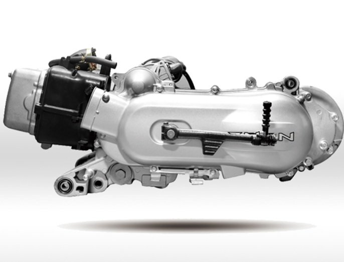 Dzinējs GY6 150cc 12''
