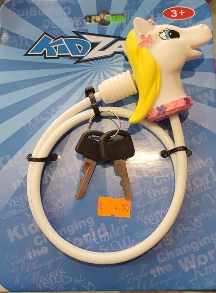 Bērnu velo slēdzenes Kidzamo