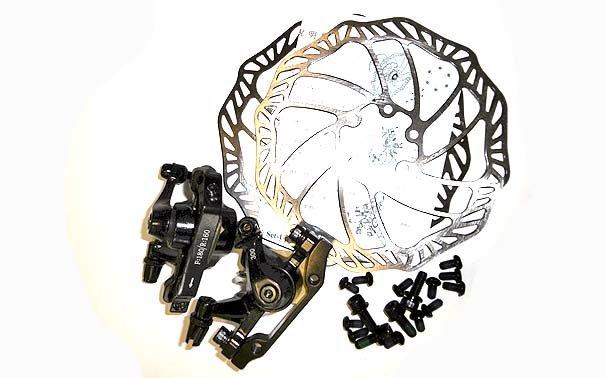 Mehāniskas disku bremzes Promax