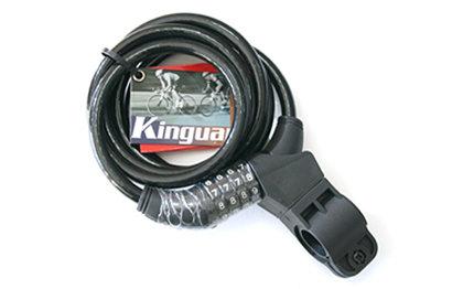 Velo slēdzene Kinguard 150 cm ar kodu