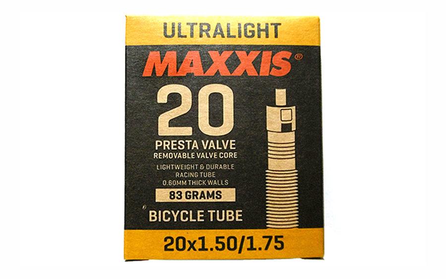 """Velosipēda kamera Maxxis 20"""" x 1.50/1.75 Presta RVC"""