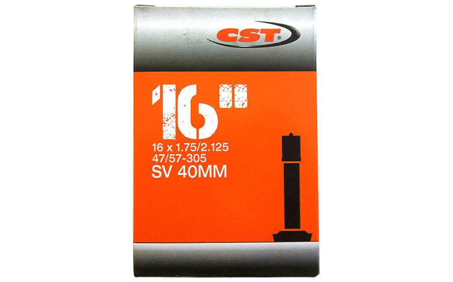 "Velosipēda kamera CST 16"" x 1.75/2.125, A-V 40 mm"