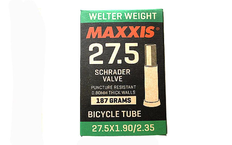"Velosipēda kamera Maxxis 27.5"" x 1.90/2.35 Schrader A-V"
