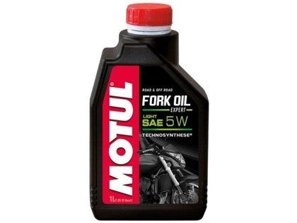 Eļļa amortizatoru dakšai Motul Fork Oil SAE 5W