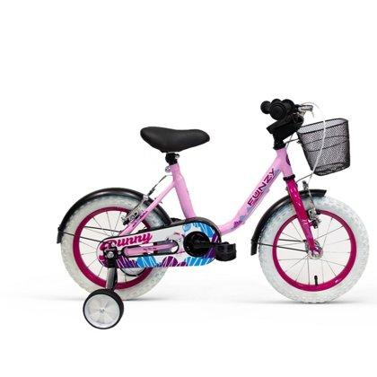 14'' bērnu velosipēds Funzy Bunny