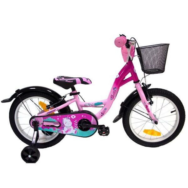 16'' bērnu velosipēds 4Kids Bella