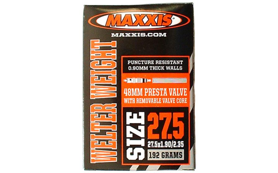"""Velosipēda kamera Maxxis 27.5"""" x 1.90/2.35 Presta 48 mm RVC"""