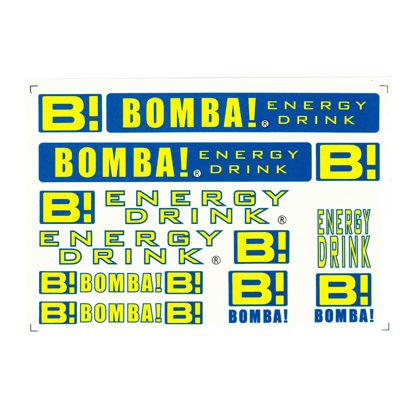 Uzlīmes BOMBA 245*170mm