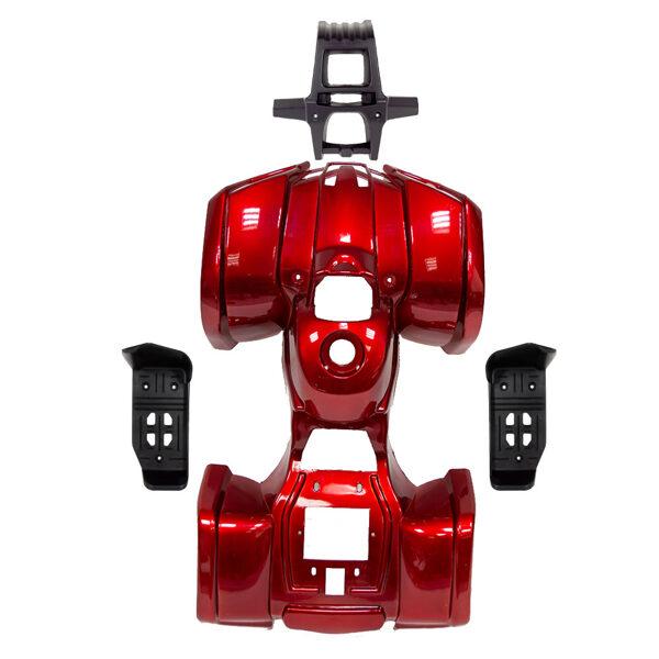 ATV plastmasas komplekts (sarkans) HB ATV 49 N