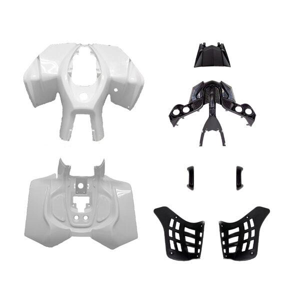 ATV plastmasas komplekts (balts) HB ATV 50 R