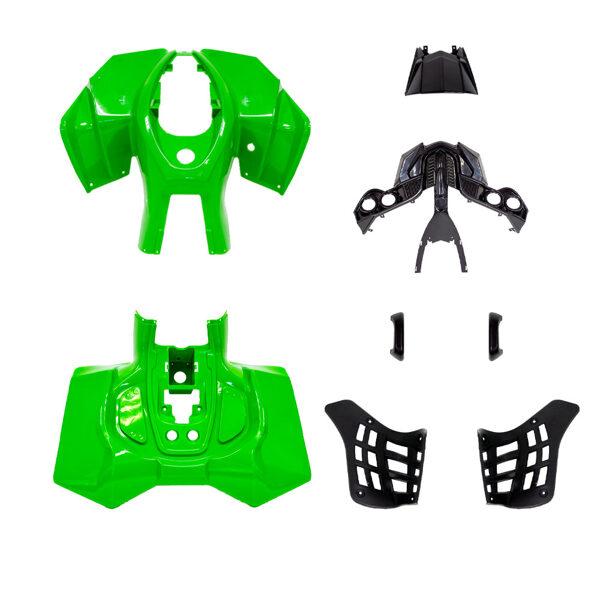 ATV plastmasas komplekts (zaļš) HB ATV 50 R