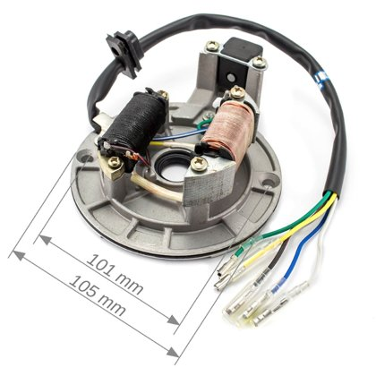 ATV 110 ģenerators (2 spoles/ 5 vadu sistēma) ar blīvslēgu