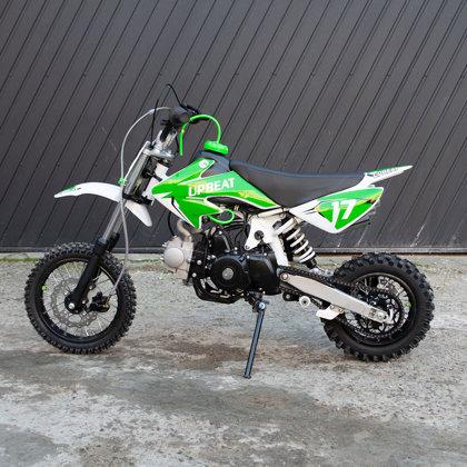 Bērnu krosa motocikls ABTDB110-1 (10-12'' riteņi) elektriskais starteris