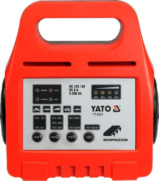 Akumulatora uzlāde Yato YT-8301