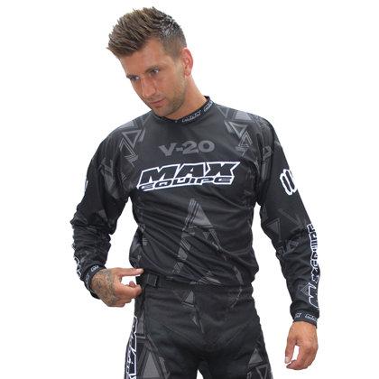 Krekls M/X Wulfsport Max V20 melns