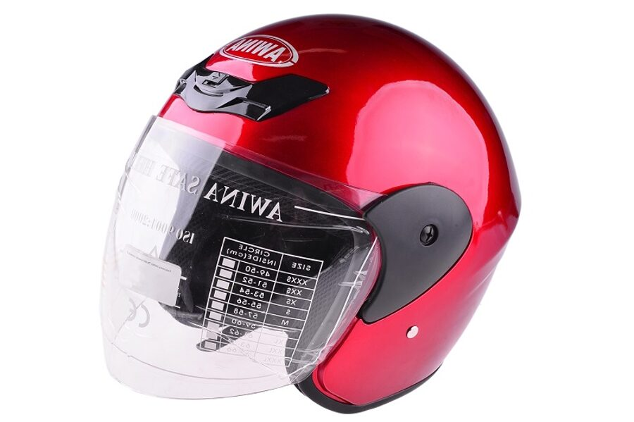 Ķivere AWINA OPEN FACE TYPE TN-8661 RED M W/O ECE