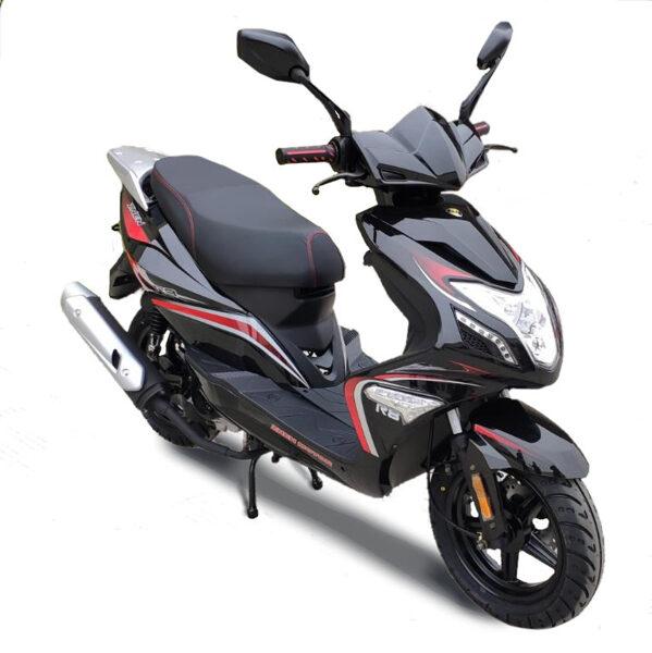 Motorollers Znen ZN50QT R8 melns