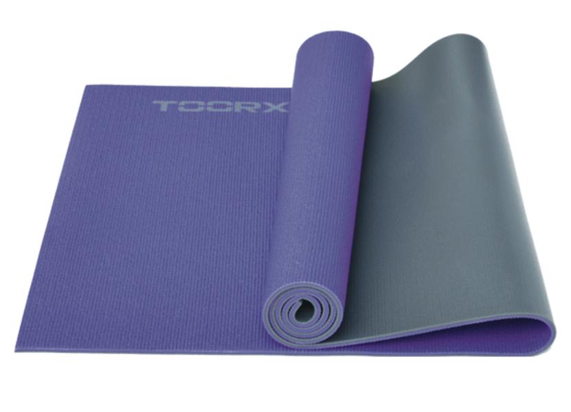 Toorx divu krāsu vingrošanas paklājs