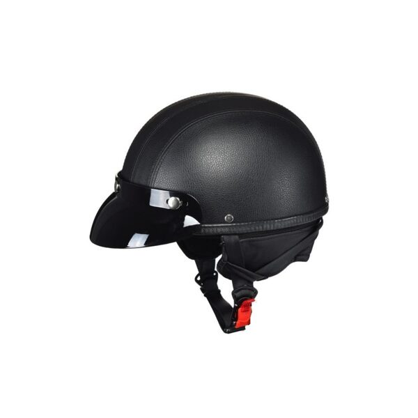 Ķivere AWINA OPEN FACE LEATHER-LOOK M TN8689 BLACK