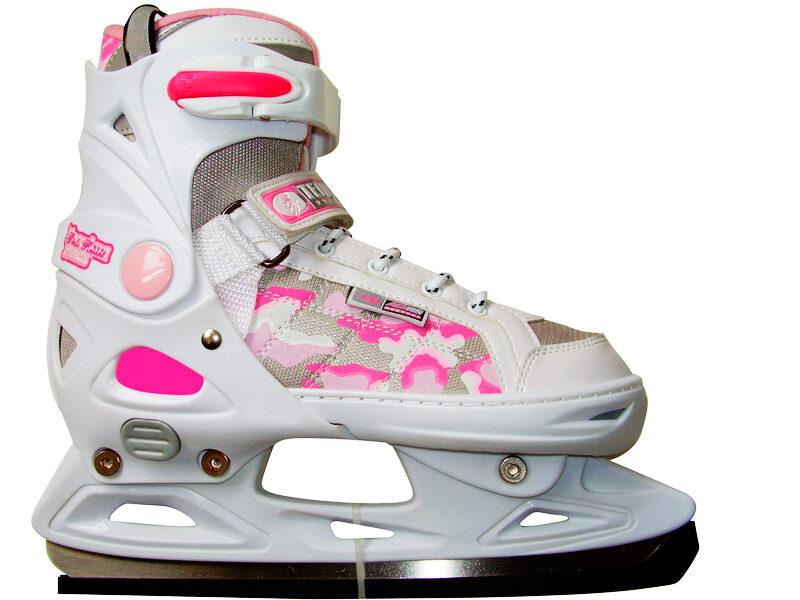 Hokeja slidas Action regulējamās 37-40-izmērs
