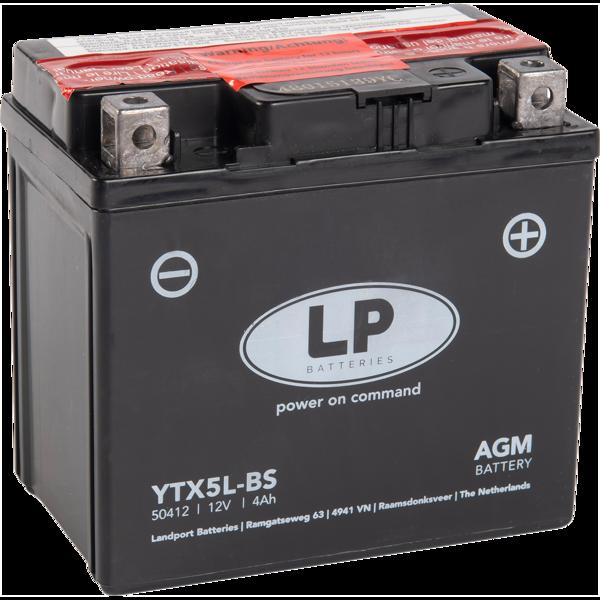12V/4Ah AGM LFFi 113x70x105R(YT5L-BS)